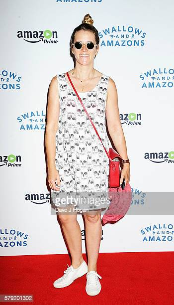 Edith Bowman attends the gala screening for 'Swallows and Amazons' at Picturehouse Central on July 23 2016 in London England