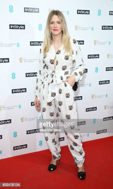 Edith Bowman attends the InStyle EE Rising Star Party at the Ivy Soho Brasserie on February 1 2017 in London England