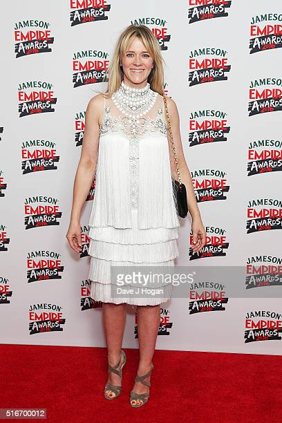 Edith Bowman attends the Jameson Empire Awards 2016 at The Grosvenor House Hotel on March 20 2016 in London England
