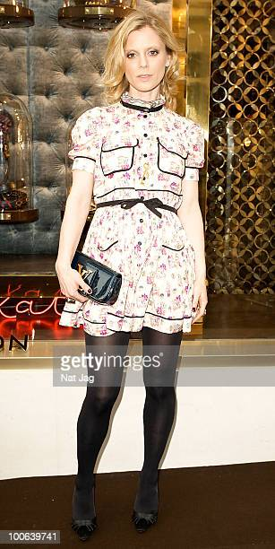 Edith Bowman attends the launch of the Louis Vuitton Bond Street Maison on May 25 2010 in London England