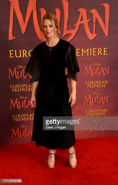 Edith Bowman attends the Mulan photocall at Trafalgar Hotel on March 13 2020 in London England