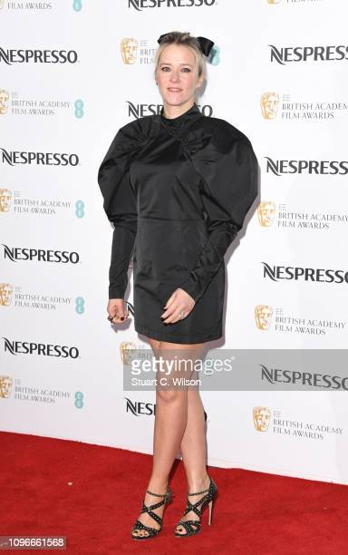 Edith Bowman attends the Nespresso British Academy Film Awards nominees party at Kensington Palace on February 9 2019 in London England