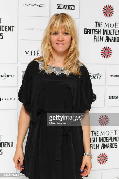 Edith Bowman attends the nominations announcement of The Moet British Independent Film Awards at St Martin's Lane Hotel on October 31 2011 in London...