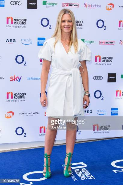 Edith Bowman attends the Nordoff Robbins O2 Silver Clef Awards 2018 at Grosvenor House on July 6 2018 in London England