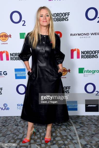 Edith Bowman attends the Nordoff Robbins O2 Silver Clef Awards 2019 at Grosvenor House on July 05 2019 in London England