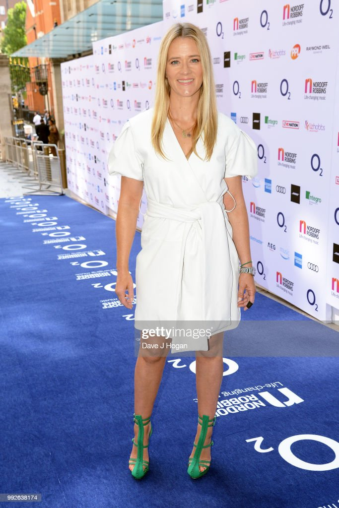 Edith Bowman attends the Nordoff Robbins' O2 Silver Clef Awards at Grosvenor House, on July 6, 2018 in London, England.