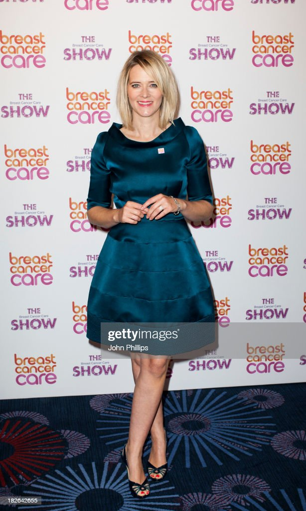 Edith Bowman attends the photocall ahead of the Breast Cancer Care Fashion Show at Grosvenor House, on October 2, 2013 in London, England.