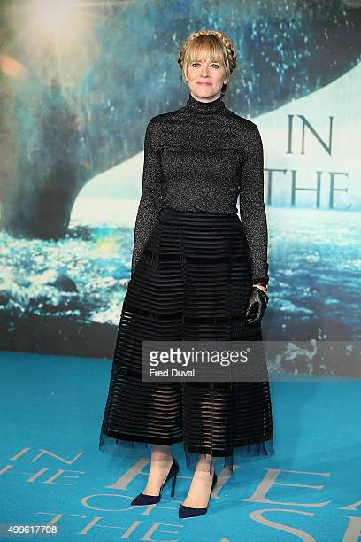 Edith Bowman attends the Red Carpet Arrivals for the European Film Premiere of 'In The Heart Of The Sea'>> at Empire Leicester Square on December 2...