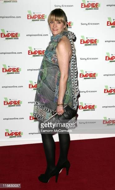 Edith Bowman attends the Sony Ericsson Empire Awards 2008 at the Grosvenor House Hotel on March 09 2008 in London England