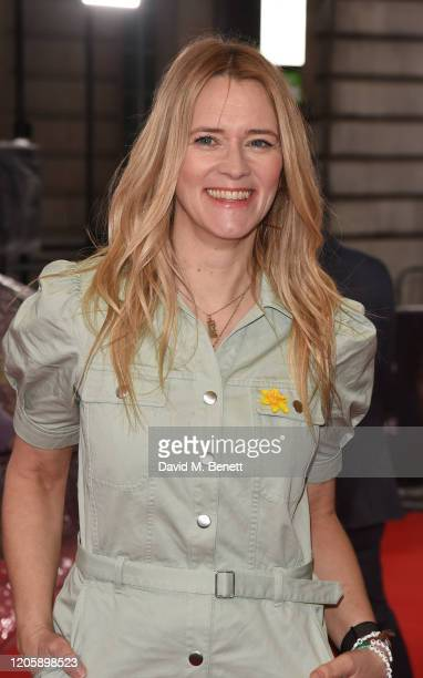 Edith Bowman attends the UK Premiere of Radioactive at The Curzon Mayfair on March 8 2020 in London England