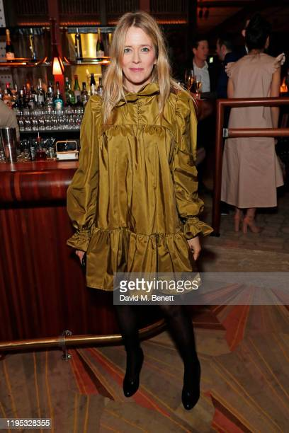 Edith Bowman attends the Vanity Fair EE Rising Star Award Party ahead of the 2020 EE BAFTAs at The Standard London on January 22 2020 in London...