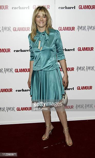 Edith Bowman during 2005 Glamour Women of the Year Awards Inside Arrivals at Berkeley Square in London Great Britain