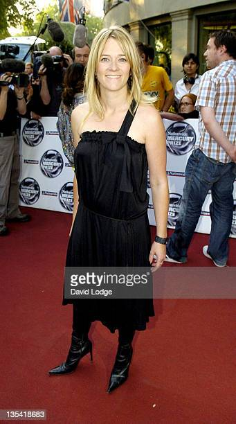 Edith Bowman during 2005 Nationwide Mercury Music Prize at Grosvenor House in London Great Britain
