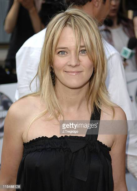 Edith Bowman during 2005 Nationwide Mercury Prize Outside Arrivals at Grosvenor House in London Great Britain