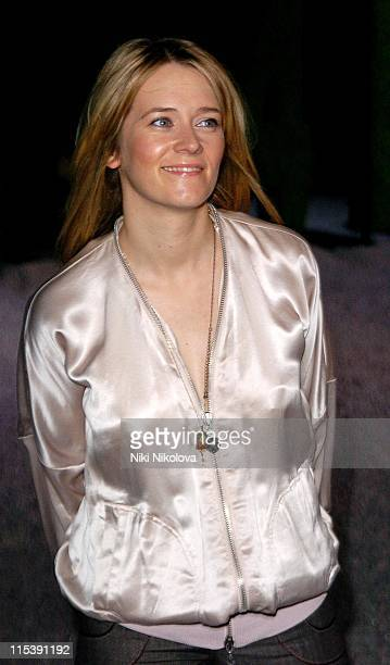 Edith Bowman during HM Stella McCartney Collection Launch Party at St Olave House in London Great Britain