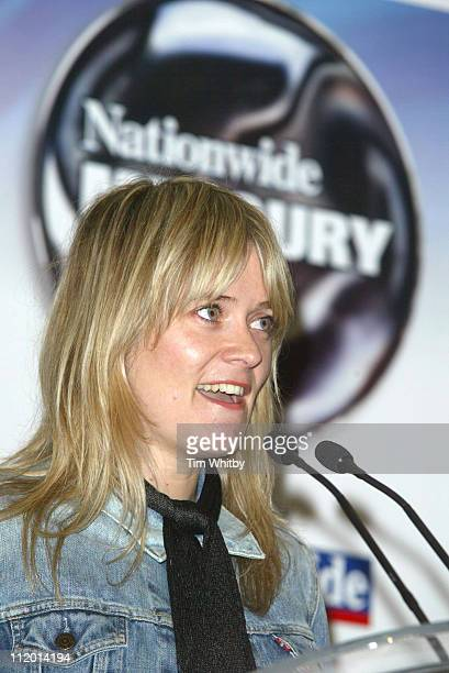 Edith Bowman during Panasonic Mercury Music Awards 2004 Nominations Announced at Royal Commonwealth Club in London United Kingdom