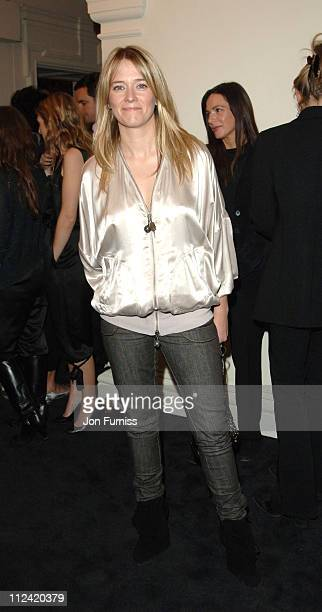 Edith Bowman during Stella McCartney for HM Launch Party Inside at St Olave's House in London Great Britain