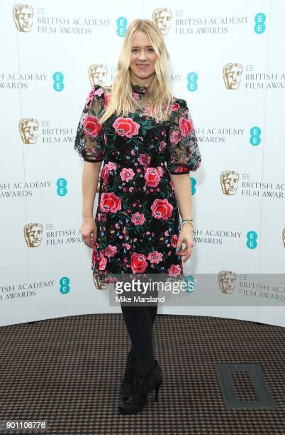 Edith Bowman during the EE Rising Star Nominations announcement held at BAFTA on January 4 2018 in London England