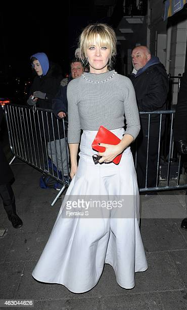 Edith Bowman seen attending at the Little House members club for BAFTAs after party February 08 2015 in London England Photo by Fjeraku/GC Images