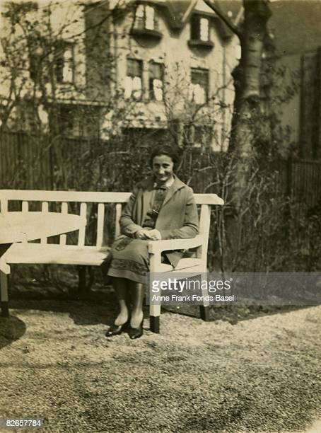 Edith FrankHollander the mother of Anne Frank circa 1925