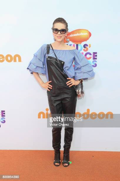 Edith Gonzalez attends the Nickelodeon Kids' Choice Awards Mexico 2017 at Auditorio Nacional on August 19 2017 in Mexico City Mexico