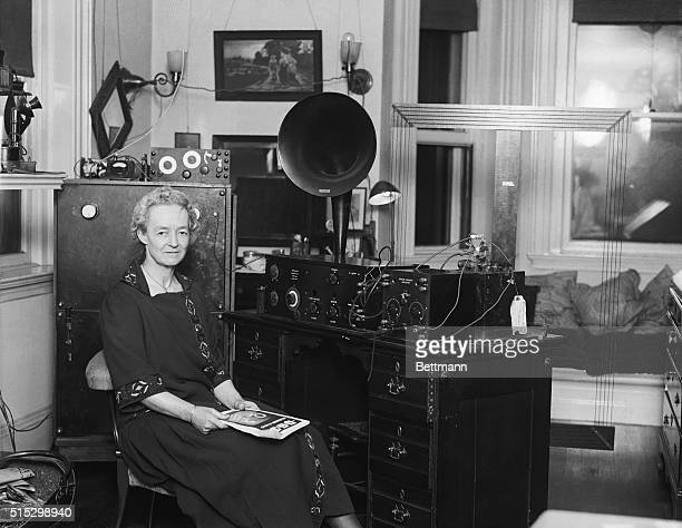 1924 Edith I Rotch of Boston whose championship tennis is still a memory for tennis fans to chat over has developed into a 'radio champion'...