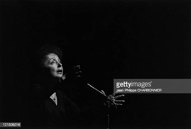 Edith Piaf At The Olympia