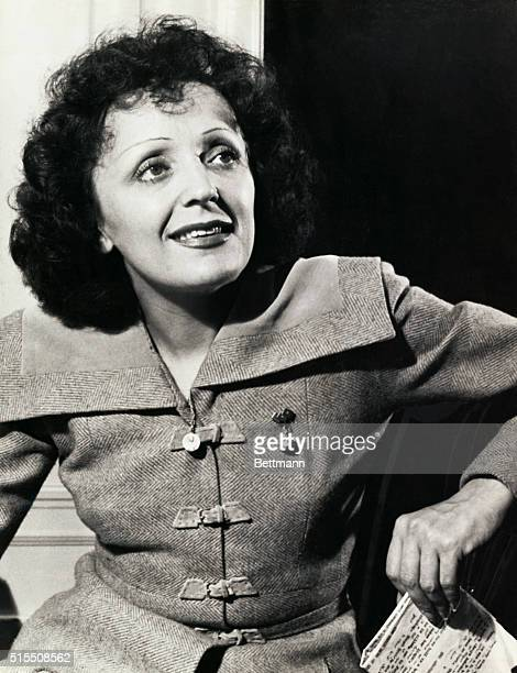 Edith Piaf French chanteuse