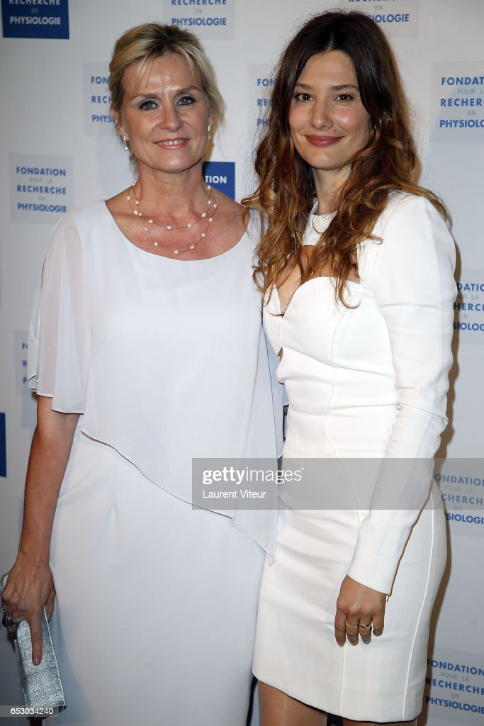 Edith Rebillon and Alice Pol attend 'La Recherche en Physiologie' Charity Gala at Four Seasons Hotel George V on March 13, 2017 in Paris, France.