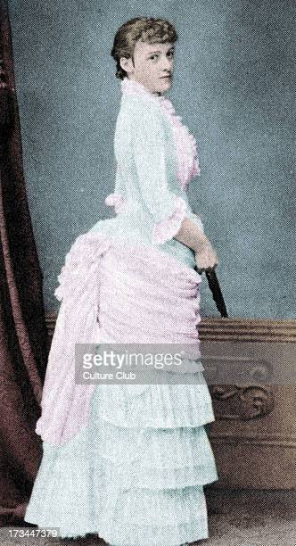 Edith Wharton as a debutante c1862 American novelist 24 January 1862 –11 August 1937 Colourised version