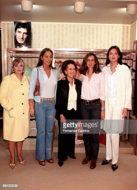 Edition Needle of Gold Maria Teresa Campos Blanca Suelves Nieves Alvarez Mª Rosa Salvador e Isabel Preysler attended as jury in the XXII edition of...