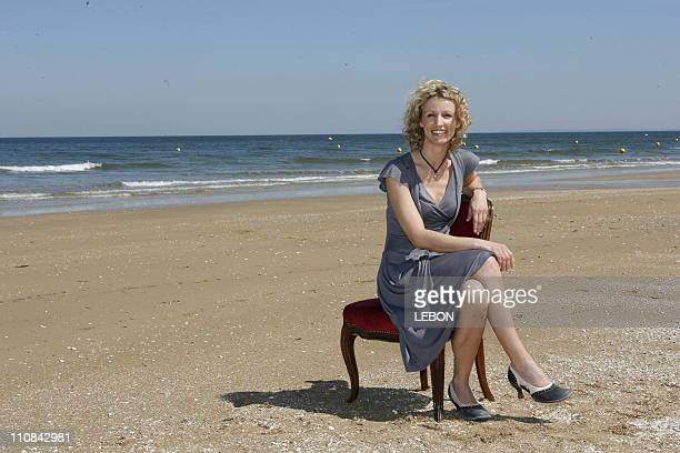 Edition Of Cabourg Romantic Film Festival Photo Call 'We'Ll Love' In Cabourg France On June 09 2006 Alexandra Lamy