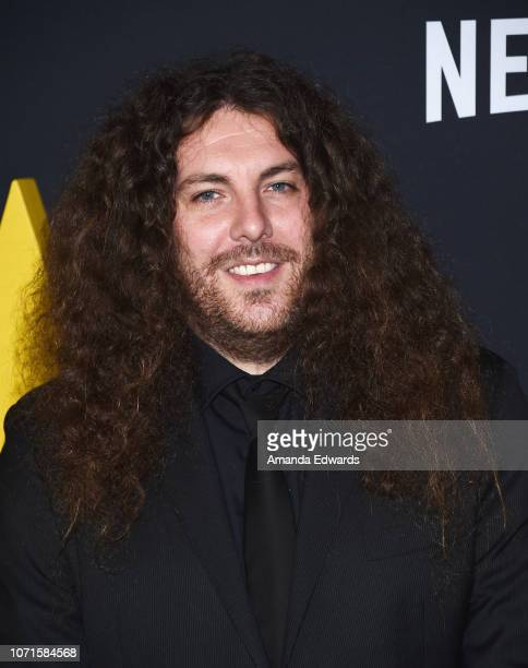 "Editor Adam Gough arrives at the Los Angeles Premiere of Alfonso Cuaron's ""Roma"" at American Cinematheque's Egyptian Theatre on December 10, 2018 in..."
