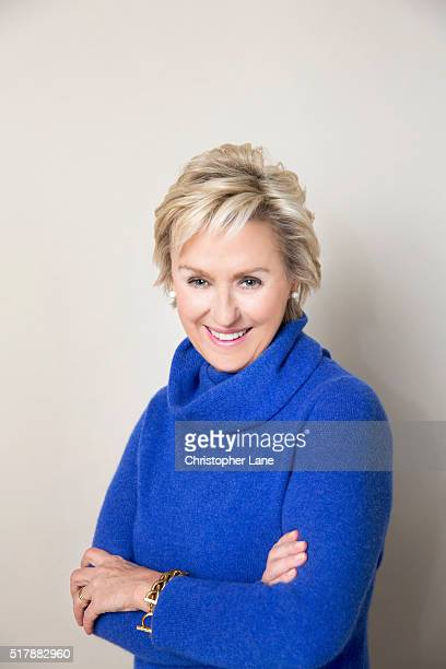 Editor and author Tina Brown is photographed for Sunday Times magazine on December 6 2015 in New York City