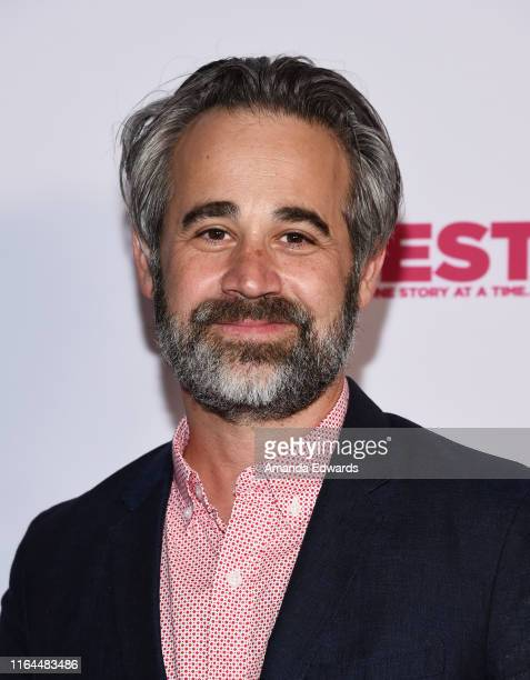 Editor and cowriter Jeff Gilbert arrives at the 2019 Outfest Los Angeles LGBTQ Film Festival Screening of Gay Chrous Deep South at the Ford Theatre...