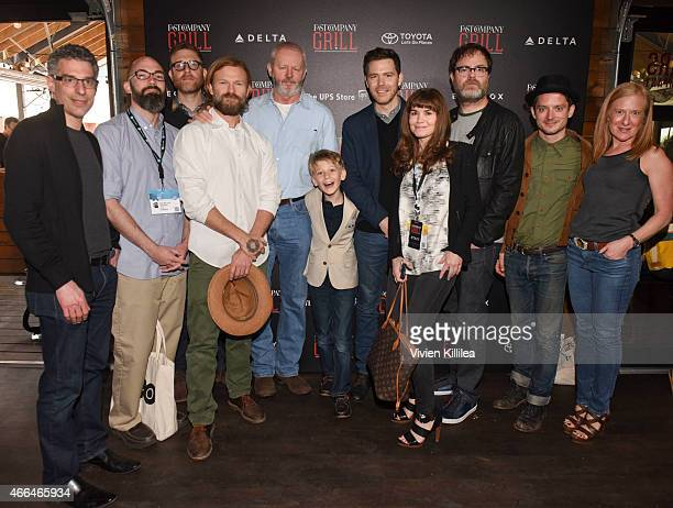 Editor and managing director of Fast Company Bob Safian screenwriter Clay McLeod Chapman producers Daniel Noah and Josh C Waller actors David Morse...