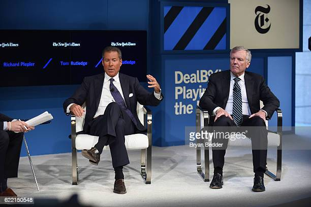 Editor at Large and Columnist for The New York Times Andrew Ross Sorkin, Chairman and CEO of Home Box Office, Inc. Richard Plepler and Charman and...