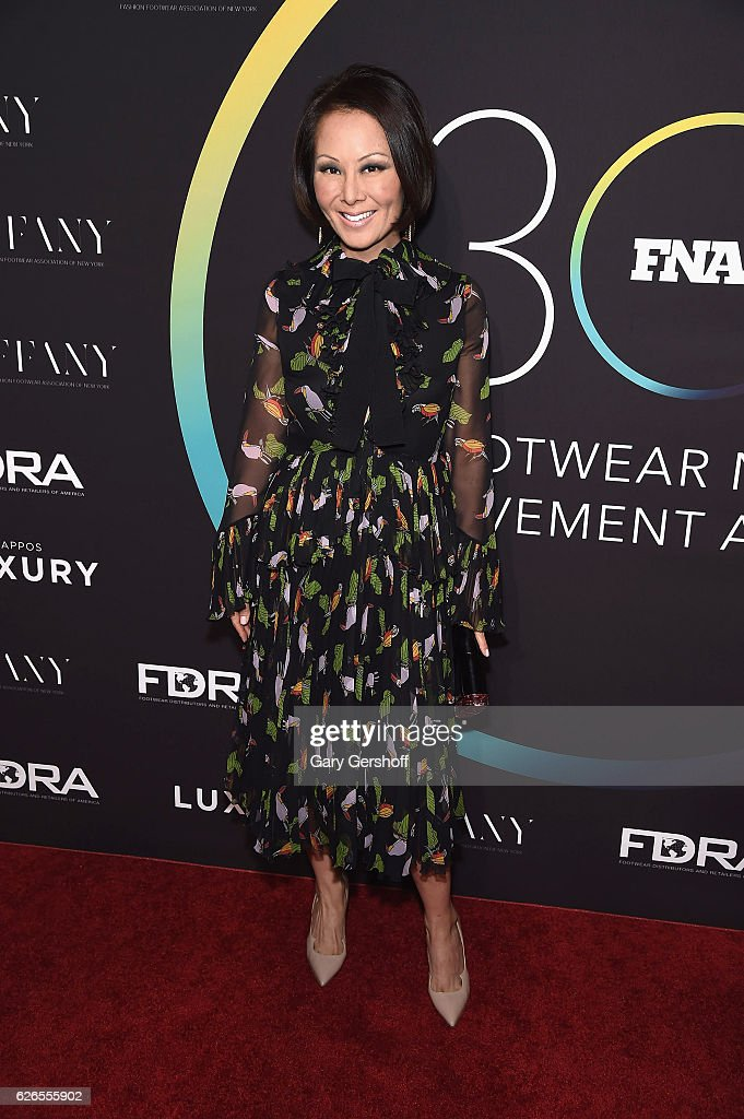 Editor at Large at Ballantine Bantam Dell, Alina Cho attends the 30th FN Achievement awards at IAC Headquarters on November 29, 2016 in New York City.