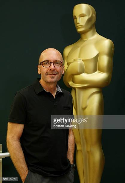 Editor Dan Swietlik poses at the 7th Annual Contemporary Documentaries Series screening of the film 'Sicko' at the Linwood Dunn Theater on March 25...