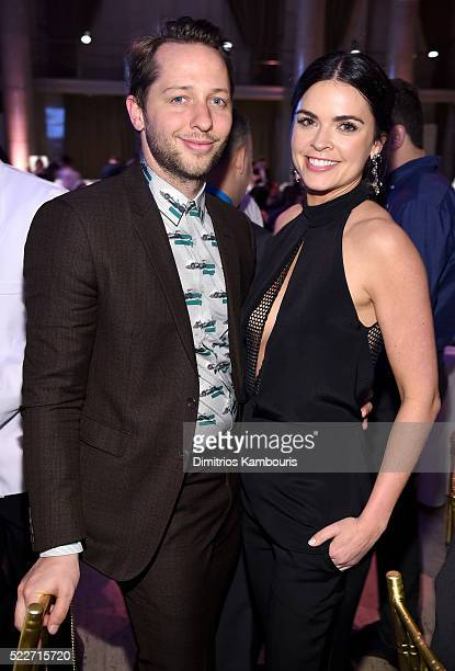 Editor Derek Blasberg and Katie Lee Joel attend the Food Bank Of New York City's Can Do Awards 2016 hosted by Mario Batali at Cipriani Wall Street on...
