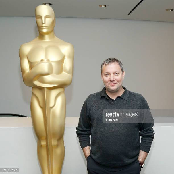 Editor Dylan Tichenor attends The Academy of Motion Picture Arts Sciences Official Academy Screening of Phantom Thread at MOMA on December 12 2017 in...