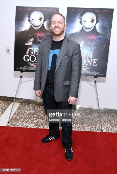Editor Erich Demerath attends the premiere of Get Gone at Arena Cinelounge on January 24 2020 in Hollywood California