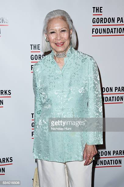 Editor Gene Young attends the 2016 Gordon Parks Foundation awards dinner at Cipriani 42nd Street on May 24 2016 in New York City