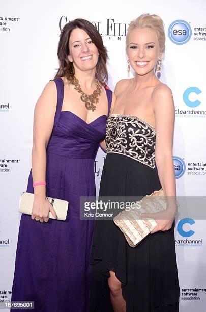 Editor in chief and publisher of Capitol File Magazine Sarah Schaffer and Britt McHenry attend Capitol File's White House Correspondents' Association...