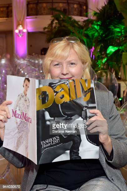 Editor in Chief CEO at The Daily Front Row Brandusa Niro attends The Daily Front Row's 4th Annual Fashion Los Angeles Awards at Beverly Hills Hotel...