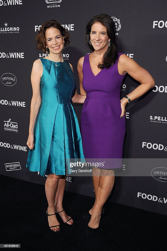 Editor in Chief, Dana Cowin (L) and FOOD & WINE Publisher Christine Grdovic attend the 2014 FOOD & WINE Best New Chefs Party at Powerhouse at The American Museum of Natural History on April 1, 2014 in New York City.