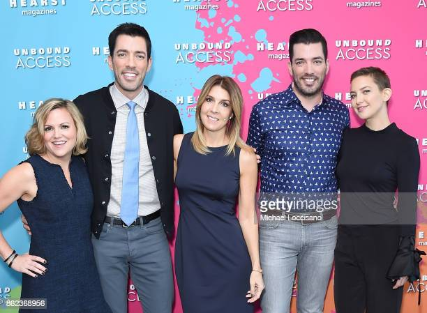 Editor in Chief HGTV Magazine Sara Peterson Property Brothers Jonathan Scott Drew Scott Editor in Chief of Cosmopolitan Michele Promaulayka and...