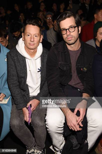 Editor in Chief Jim Nelson and GQ Style Editor in Chief Will Welch attend the Bottega Veneta Fall/Winter 2018 fashion show at New York Stock Exchange...