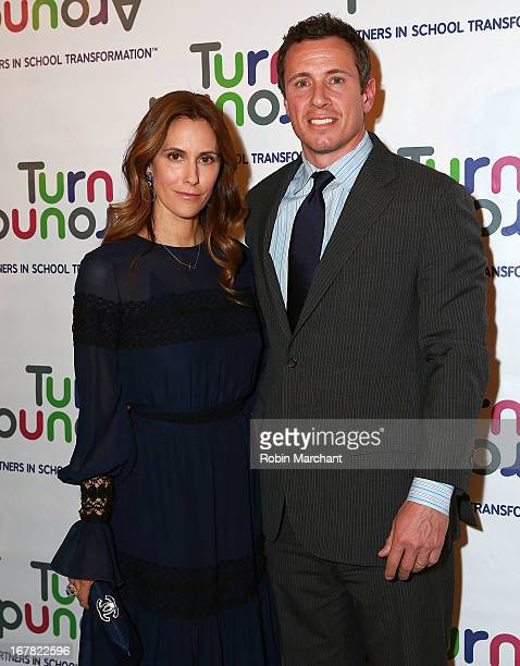 Editor in chief, Manhattan magazine Cristina Cuomo and Journalist Chris Cuomo attend Turnaround for Children 4th Annual Impact Awards Gala at The...