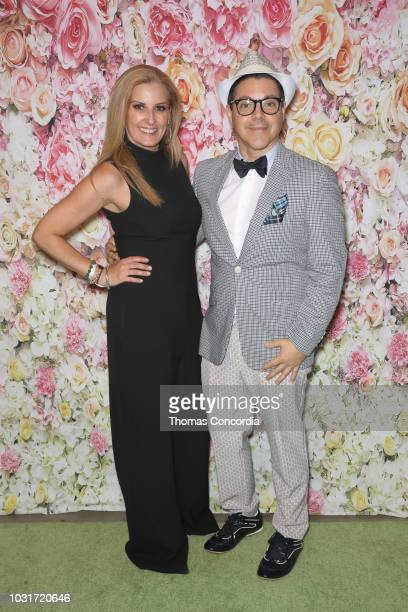 Editor in Chief of BELLA Magazine Courtenay Hall and Eric Andrew attend as STYLE360 hosts DFBKDefend Brooklyn sponsored by Skechers Sony Be Alpha on...